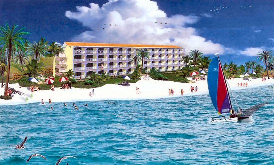 Caicos Beach Club Resort & Marina, artist rendering