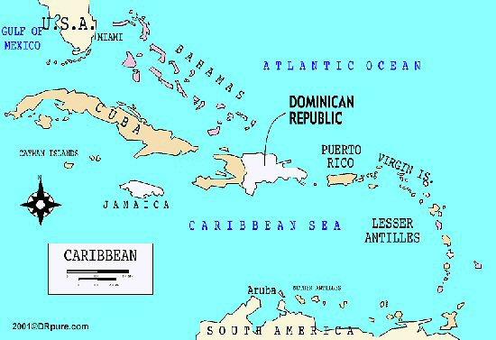 Alta Bella Fishing Lodge At Cap Cana Dominican Republic Condo - Map of us and dominican republic