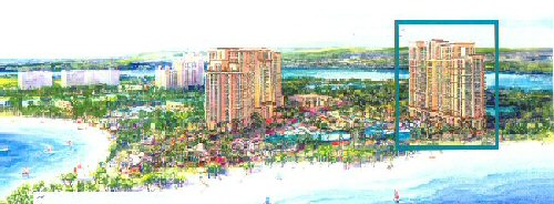 The Residences at Atlantis, Artist rendering