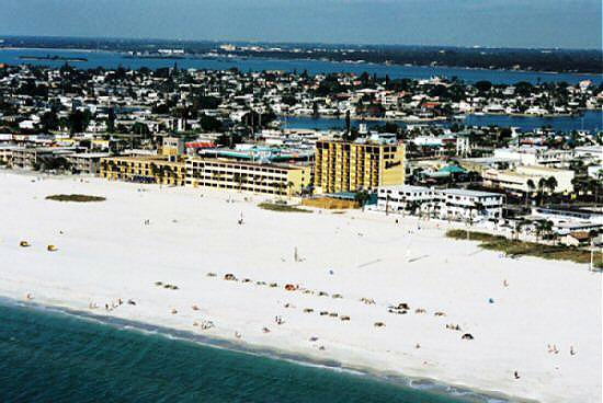 The Bilmar S Three Yellow Buildings Have 550 Feet Of Beautiful Beach Frontage Which Most Its