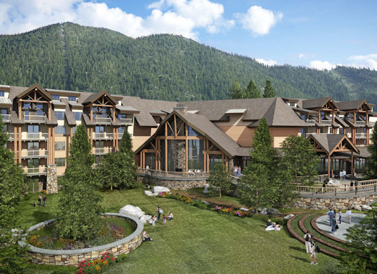 The Cau At Heavenly Village Will Be A 420 Million Resort In South Lake Tahoe Just Steps From Gondola