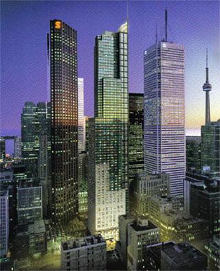 Artist Rendering - Trump International Hotel & Tower (middle building)
