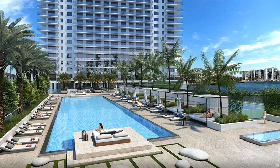 Owners And Guests Of Both The Condo Residences Resort Condos Will Receive Beach Club Membership Which Give Them Access To Three Story