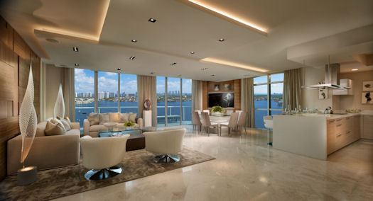 This model home at marina palms was designed and furnished by interiors by steven g