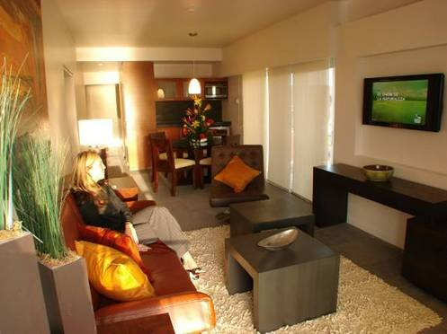 Interior Décors Of The Condo Hotel Living Areas