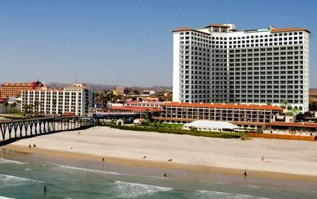 The To Be Built Rosarito Beach Condo Hotel Is New L Shaped Tower Located Behind Existing Three Story