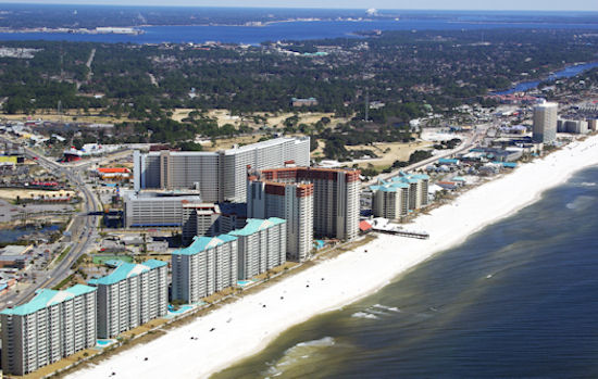 Aerial View Of Panama City Beach The Best Beaches In World