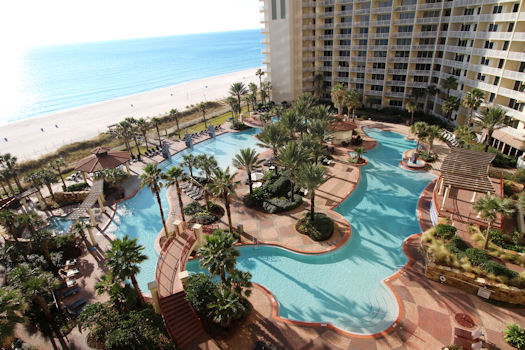 Its 2 Million Dollar Centerpiece Includes Almost 14 000square Feet Of Pools Fountains Beaches And Gardens With Over 250 Lounge Chairs Multiple Cabanas