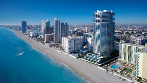 Luxury High Rise Condos On The Ocean Trump Hollywood Florida
