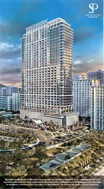 Trump International Hotel & Tower Waikiki Beach Walk ... |Trump Tower Waikiki Hotel